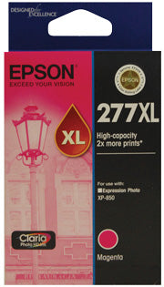 Epson 277XL High Capacity Claria Photo HD Magenta ink