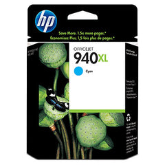 Hp 940 Xl Cyan Oj Cartridge For Oj Pro 8000 Printer (Cb092 A)