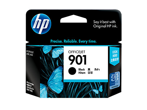 HP OFFICE JET 901 BLACK INK CARTRIDGE