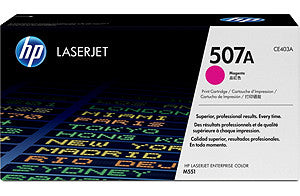HP507A Magenta LJ Print Cartridge