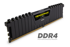 Corsair Vengeance LPX 16GB (2x8GB) DDR4 DRAM DIMM 3000MHz Unbuffered 15-17-17-35 Black Heat spreader 1.35V XMP 2.0