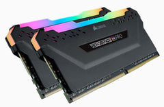Corsair Vengeance RGB Pro DDR4, 3000MHz 16GB 2 x 288 DIMM, Unbuffered, 15-17-17-35