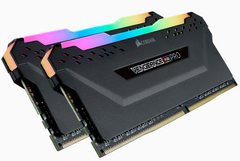 Corsair Vengeance Rgb Pro Ddr4, 3200 M Hz 64 Gb 2x32 Gb Dimm, Unbuffered, 16 20 20 38, Xmp 2.0, Black Heatspreader, Rgb Led, 1.35 V