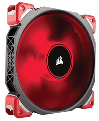 Corsair ML140 PRO LED, Red, 140mm Premium Magnetic Levitation Fan