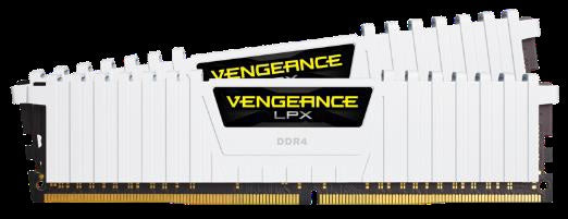 CORSAIR VENGEANCE® LPX 16GB (2 x 8GB) DDR4 DRAM 3000MHz C15 Memory Kit -  White