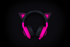 Kitty Ears for Razer Kraken - Neon Purple - FRML Packaging