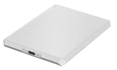 La Cie Mobile Drive, Moon Silver, 1 Tb, Usb C, 3 Years Warranty