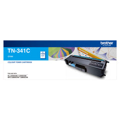 Brother TN-341C STANDARD YIELD CYAN TONER TO SUIT HL-L8250CDN/8350CDW MFC-L8600CDW/L8850CDW - 1500Pages