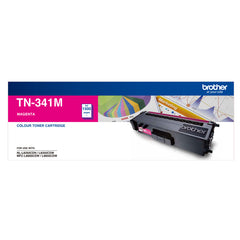 Brother TN-341M STANDARD YIELD MAGENTA TONER TO SUIT HL-L8250CDN/8350CDW MFC-L8600CDW/L8850CDW - 1500Pages