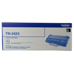 Brother TN-3420 MONO LASER TONER - HIGH YIELD UP TO 3000 PAGES - TO SUIT WITH HL-L5100DN/L5200DW/L6200DW/L6400DW & MFC-L5755DW/L6700DW/L6900DW