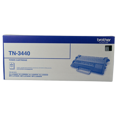 Brother TN-3440 MONO LASER TONER - HIGH YIELD UP TO 8000 PAGES - TO SUIT WITH HL-L5100DN/L5200DW/L6200DW/L6400DW & MFC-L5755DW/L6700DW/L6900DW