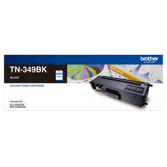 Brother TN-349BK SUPER HIGH YIELD BLACK TONER TO SUIT HL-L9200CDW MFC-L9550CDW - 6000Pages