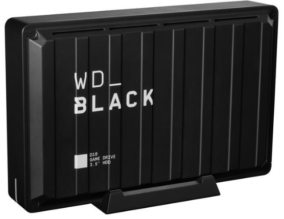 Wd Black D10 Game Drive 8 Tb Black Multi City Asia