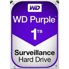 "Western Digital 3.5"" WD PURPLE,1TB,INTELLIPOWER,64MB,SATA III,(6Gbps),3YRS"