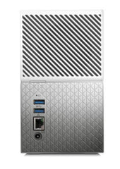 Western Digital My Cloud Home Duo 8TB Dual-Drive Personal Cloud Storage (NAS),RAID1,Media Server,File Sync,PC/Mac Backup - White