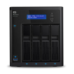 Western Digital My Cloud PR4100 Pro Series 4-bay 16TB NAS - 1.6GHz Quad-Core CPU,4GB DDR3,RAID,backup,PLEX Media Server - Black