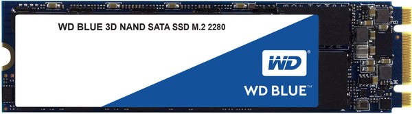 Western Digital WD Blue 3D NAND SSD, M.2 Form Factor, SATA Interface, 2TB, CSSD Platform, 3Yr Warranty
