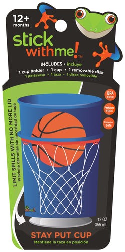 Basketball | Stick With Me Cup | No more sippy cup!