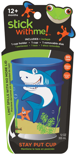 Shark Teeth - Stick With Me Stay Put Cup