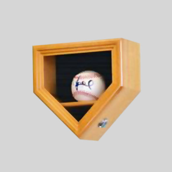 Buy 1-Baseball Display Case, UV Protection, Lockable Collectible • Hand-Painted, Unique Baseball Gifts by Unforgettaballs®