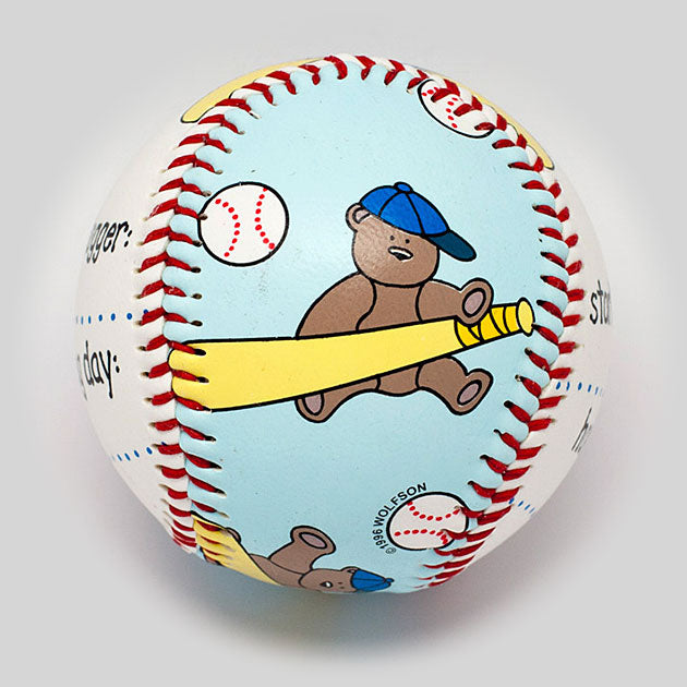 Buy Baby's First Baseball (Boy) Collectible • Hand-Painted, Unique Baseball Gifts by Unforgettaballs®