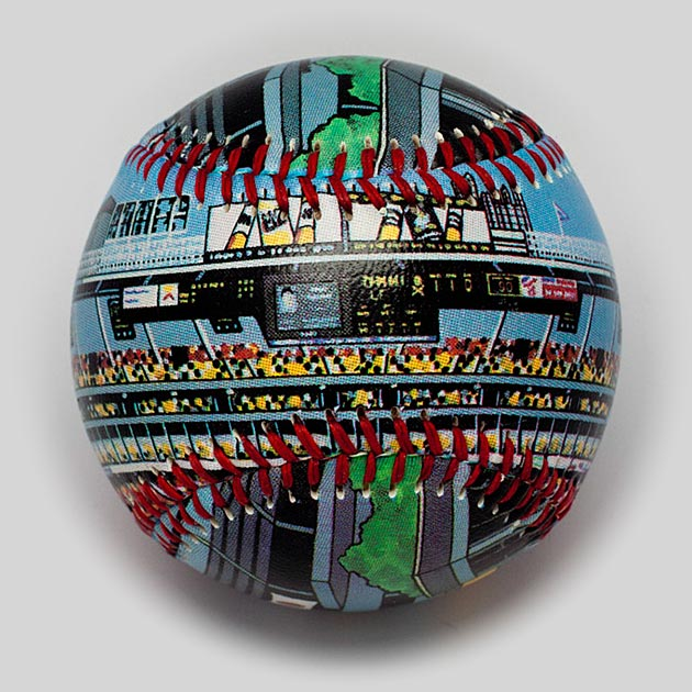 Buy Three Rivers Stadium Baseball Collectible • Hand-Painted, Unique Baseball Gifts by Unforgettaballs®