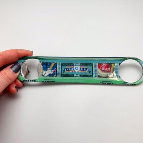 Buy Chase Field Bottle Opener Collectible • Hand-Painted, Unique Baseball Gifts by Unforgettaballs®