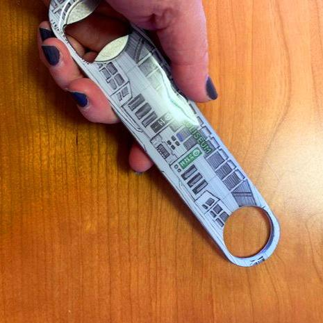 The Coliseum Bottle Opener