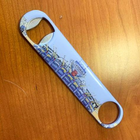 Buy Comerica Park Bottle Opener Collectible • Hand-Painted, Unique Baseball Gifts by Unforgettaballs®