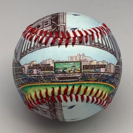 Buy Yankee Stadium Baseball Collectible • Hand-Painted, Unique Baseball Gifts by Unforgettaballs®