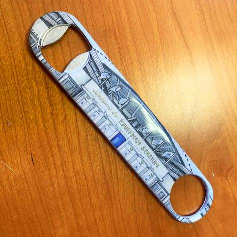 Buy Kauffman Stadium Bottle Opener Collectible • Hand-Painted, Unique Baseball Gifts by Unforgettaballs®