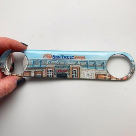 Suntrust Stadium Bottle Opener   *ships 12/4/19*