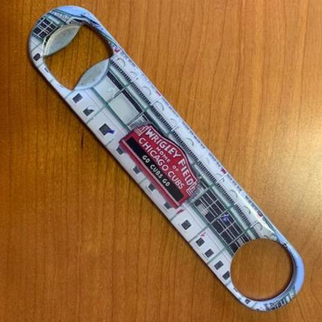 Buy Wrigley Field Bottle Opener Collectible • Hand-Painted, Unique Baseball Gifts by Unforgettaballs®