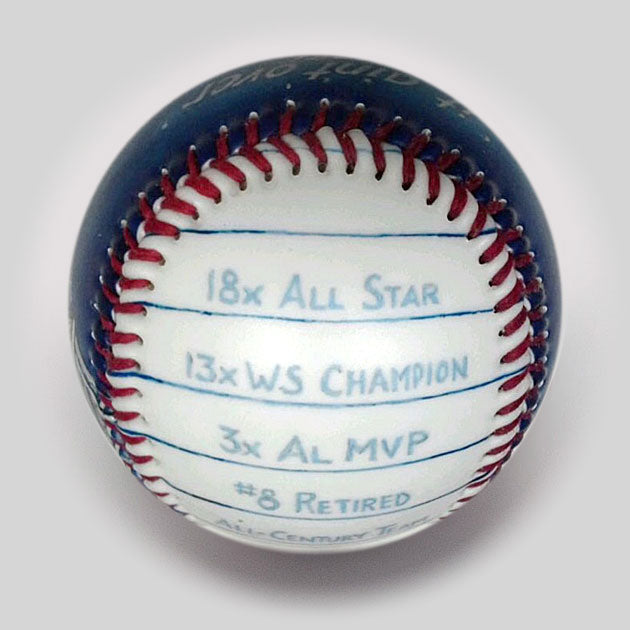 Commemorative Baseball: It Ain't Over