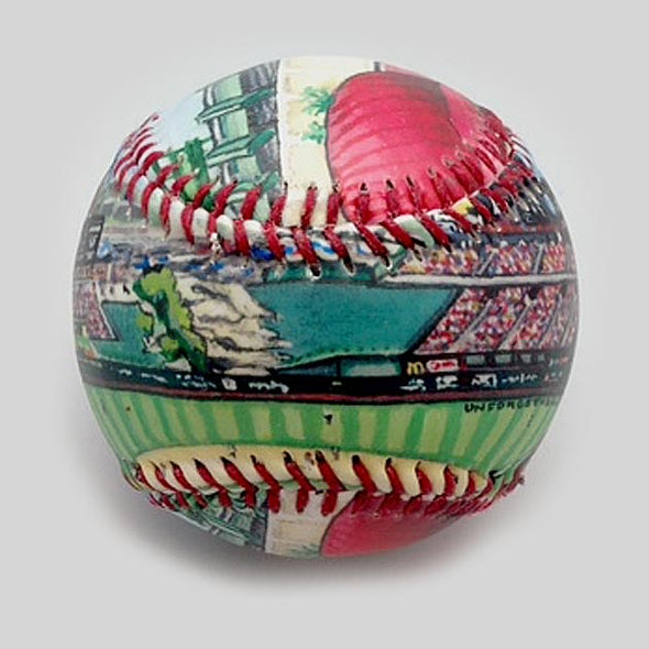 Buy Angel Stadium Baseball Collectible • Hand-Painted, Unique Baseball Gifts by Unforgettaballs®