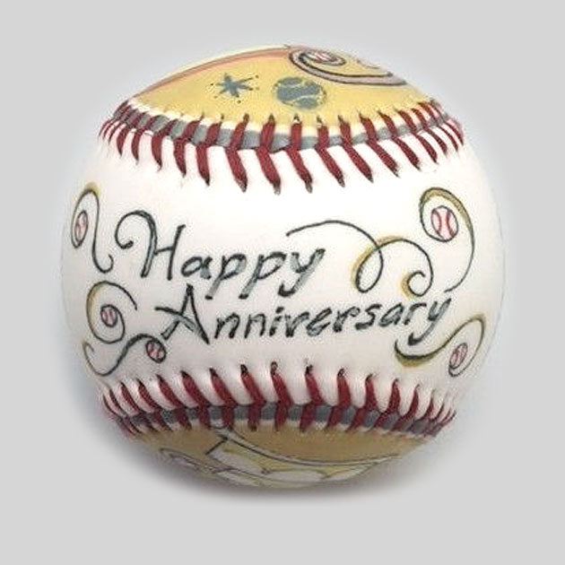 Buy Anniversary Baseball Collectible • Hand-Painted, Unique Baseball Gifts by Unforgettaballs®