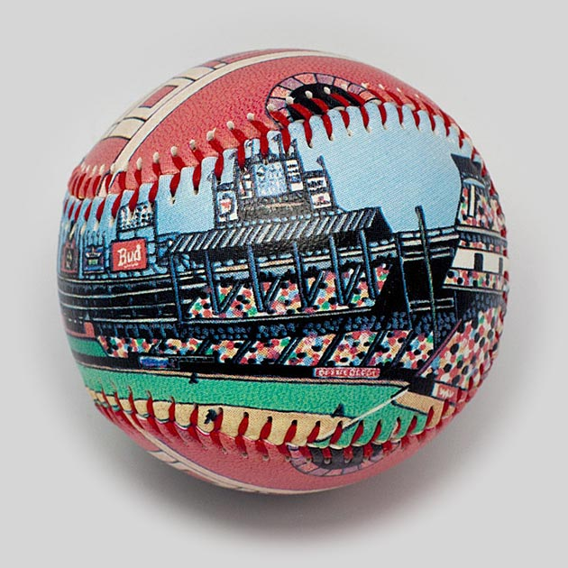 Buy The Ballpark in Arlington Baseball Collectible • Hand-Painted, Unique Baseball Gifts by Unforgettaballs®