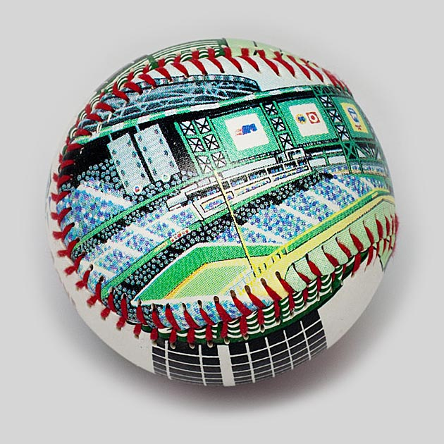 Buy Bank One Ballpark Baseball Collectible • Hand-Painted, Unique Baseball Gifts by Unforgettaballs®