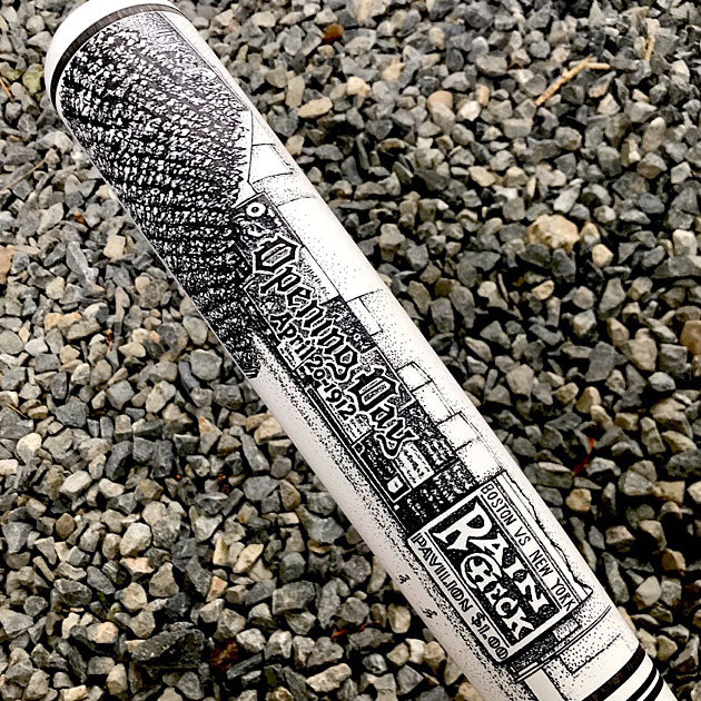 Buy Opening Day Fenway Park Engraved Bat Collectible • Hand-Painted, Unique Baseball Gifts by Unforgettaballs®