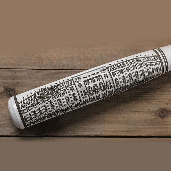 Buy Opening Day Yankee Stadium Engraved Bat Collectible • Hand-Painted, Unique Baseball Gifts by Unforgettaballs®