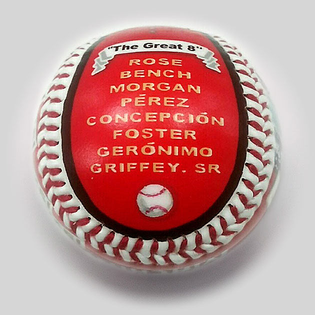 Buy Baseball Legends: The Big Red Machine Collectible • Hand-Painted, Unique Baseball Gifts by Unforgettaballs®