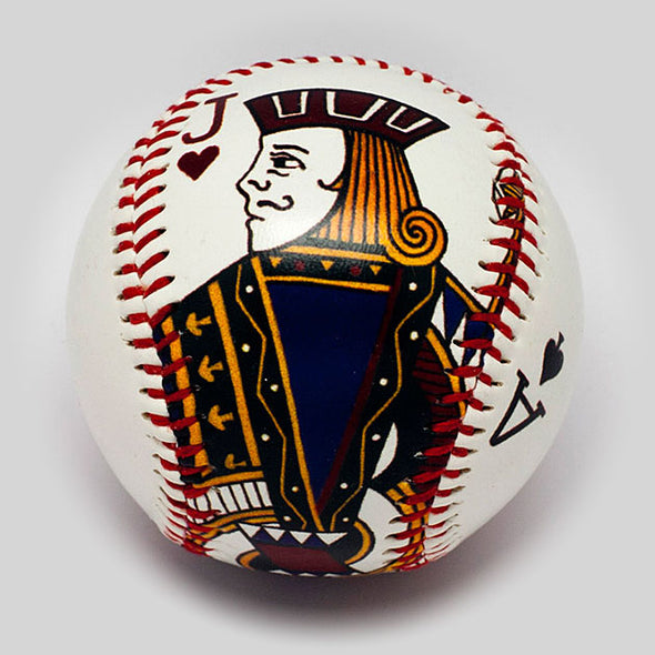 Buy Blackjack Baseball Collectible • Hand-Painted, Unique Baseball Gifts by Unforgettaballs®