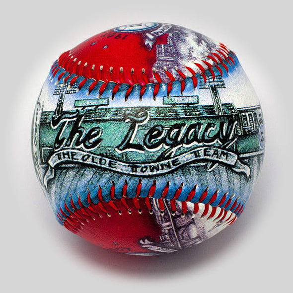 Buy Boston Fan Gift Baseball Collectible • Hand-Painted, Unique Baseball Gifts by Unforgettaballs®