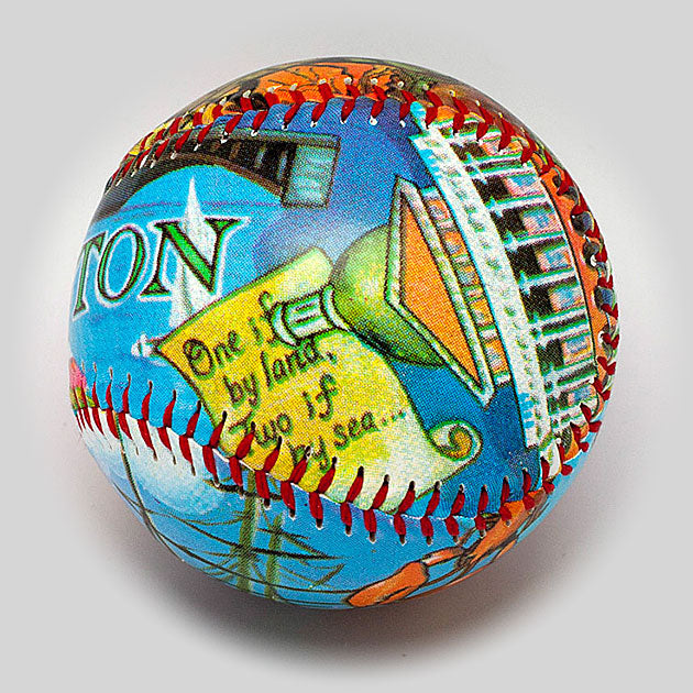 Buy Boston Baseball Collectible • Hand-Painted, Unique Baseball Gifts by Unforgettaballs®
