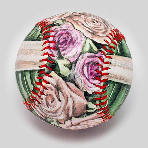 Buy Flower Bouquet Baseball Collectible • Hand-Painted, Unique Baseball Gifts by Unforgettaballs®