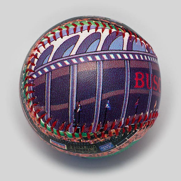 Buy Old Busch Stadium Baseball Collectible • Hand-Painted, Unique Baseball Gifts by Unforgettaballs®