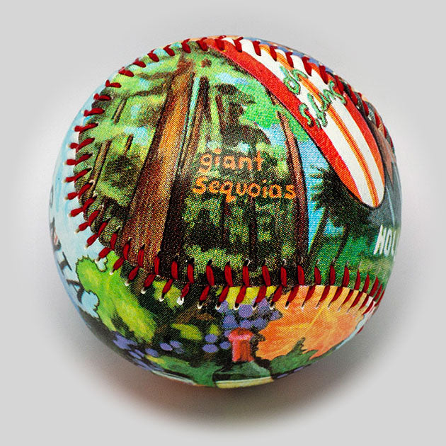 Buy California Baseball Collectible • Hand-Painted, Unique Baseball Gifts by Unforgettaballs®