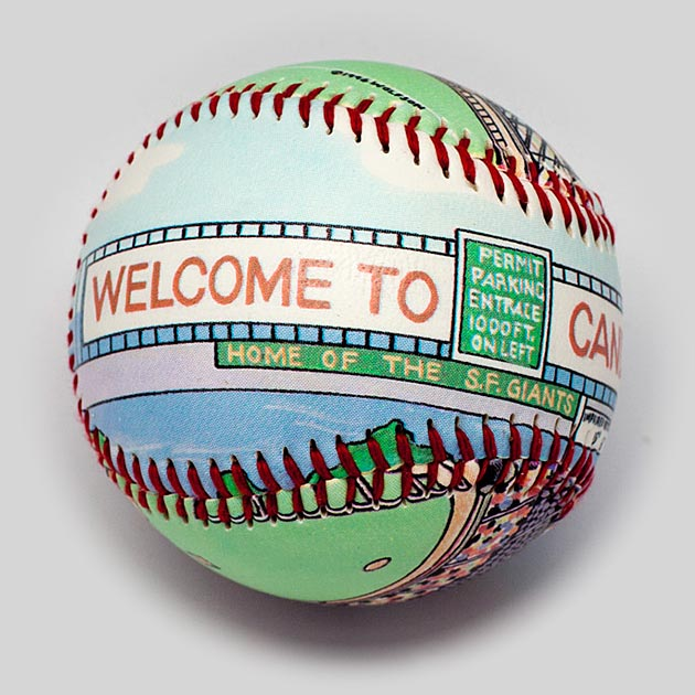 Buy Candlestick Park Baseball Collectible • Hand-Painted, Unique Baseball Gifts by Unforgettaballs®
