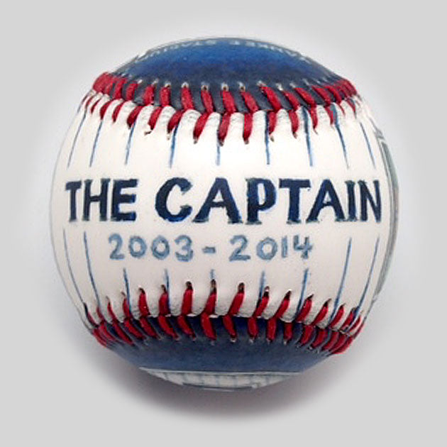 Buy Captain Ball Collectible • Hand-Painted, Unique Baseball Gifts by Unforgettaballs®
