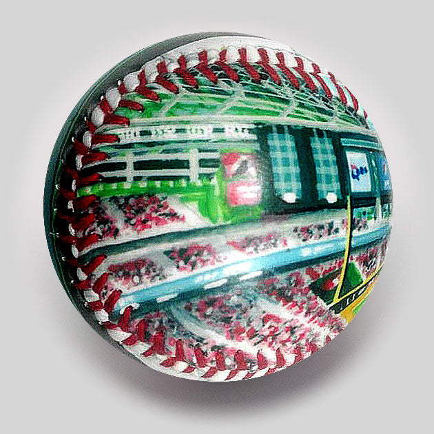 Buy Chase Field Baseball Collectible • Hand-Painted, Unique Baseball Gifts by Unforgettaballs®